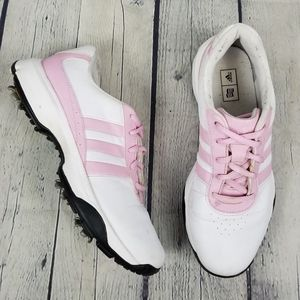 ADIDAS | lace-up cleat golf shoes